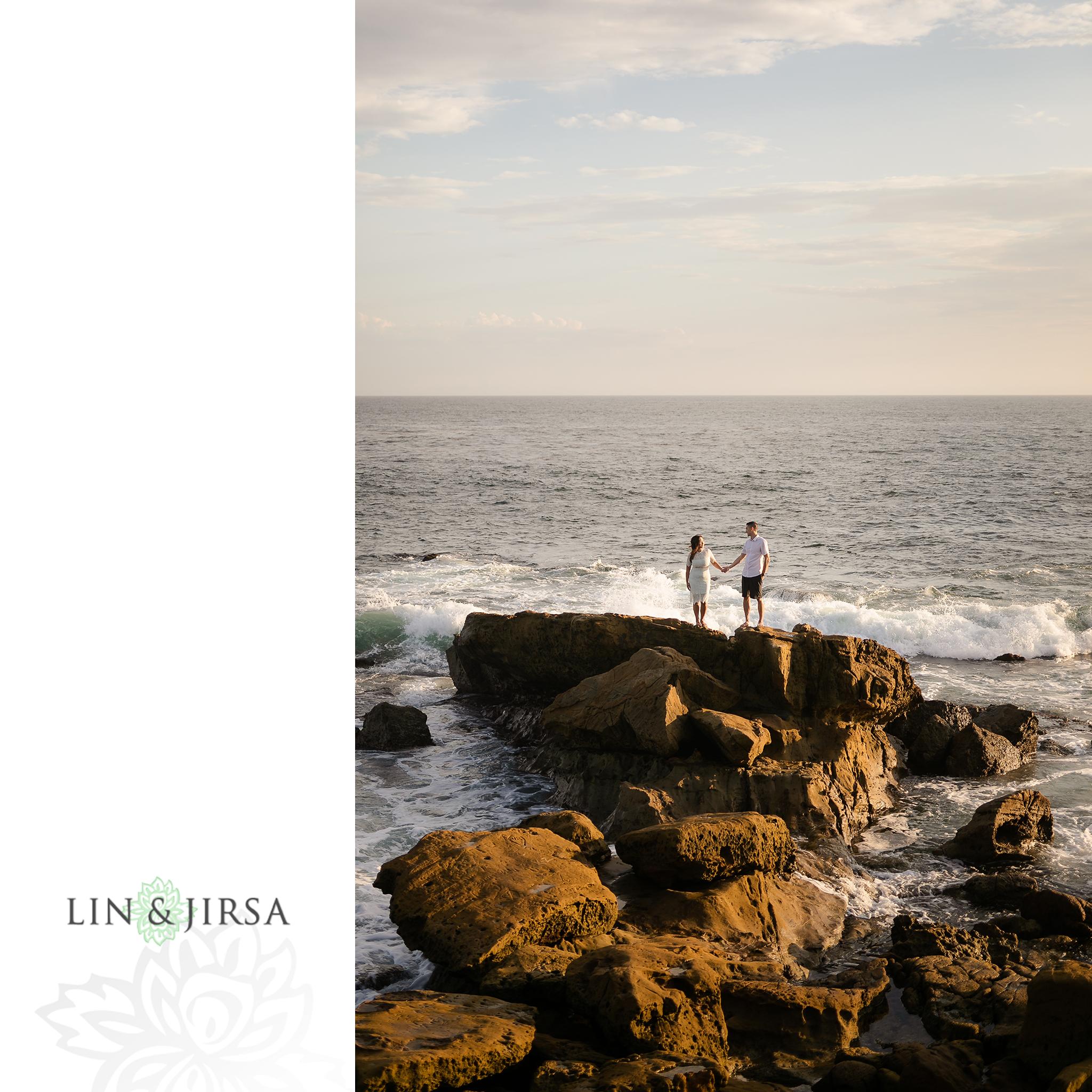 17 Heisler Beach Orange County Engagement Photography