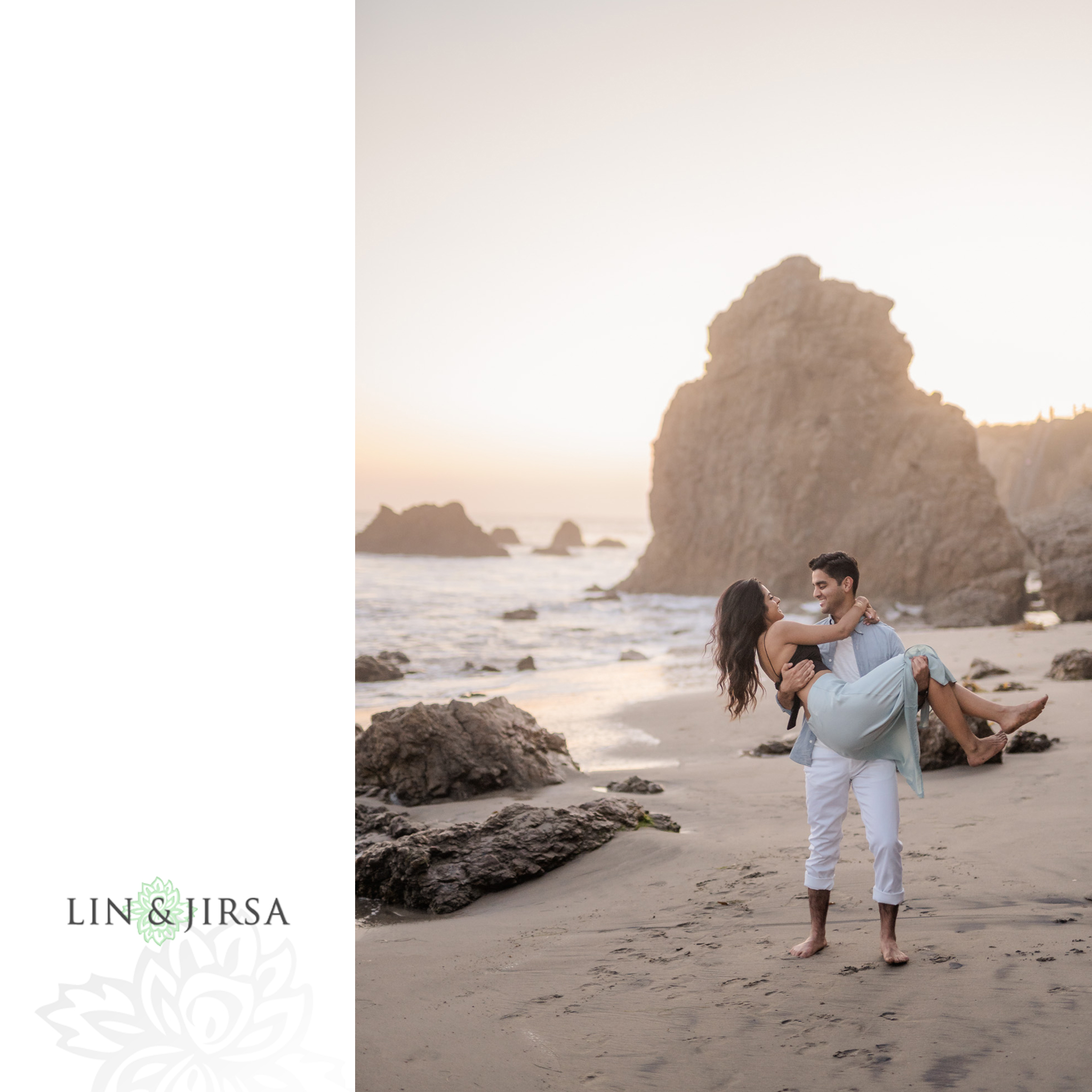19 Leo Carillo State Beach Malibu Engagement Photographer
