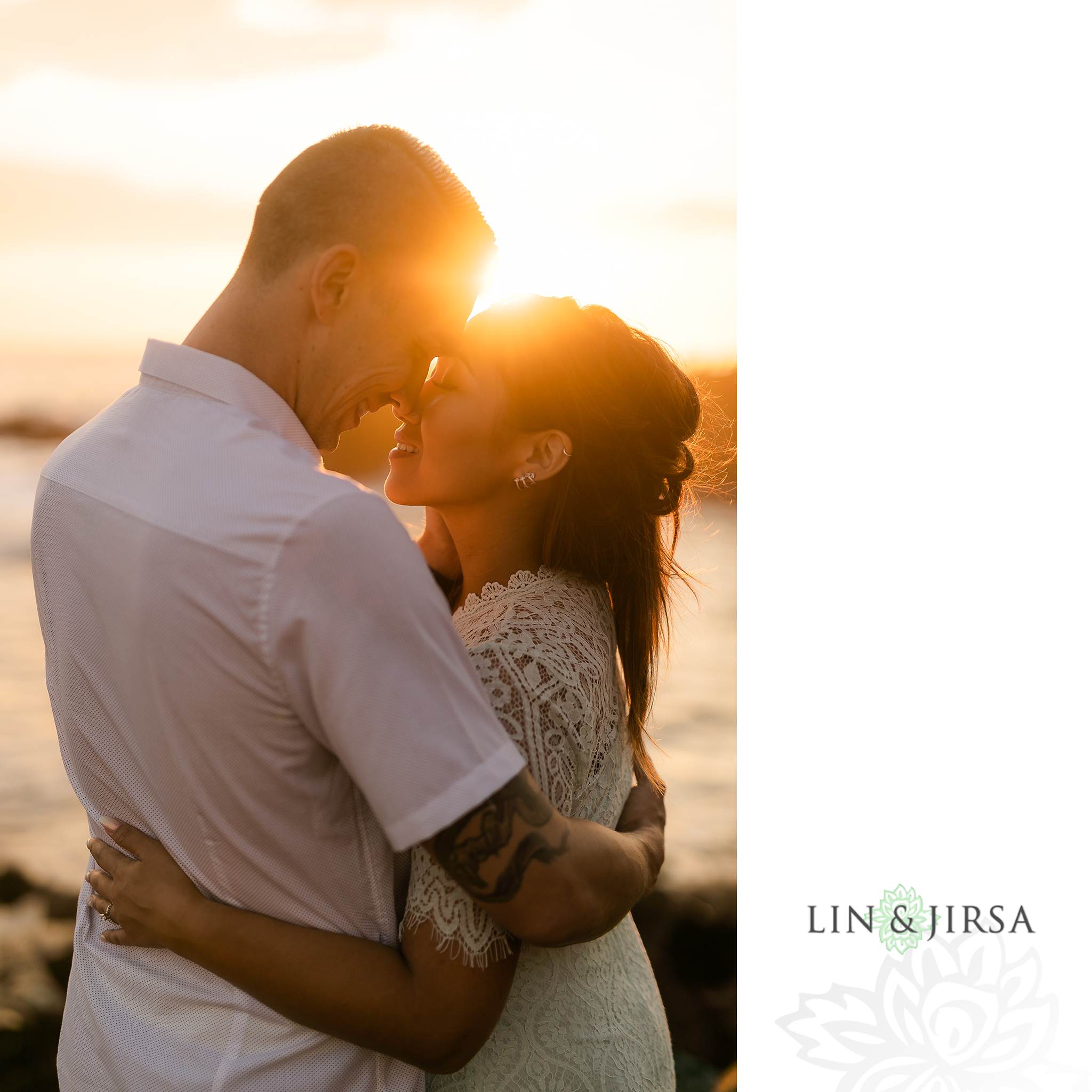 20 Heisler Beach Orange County Engagement Photography