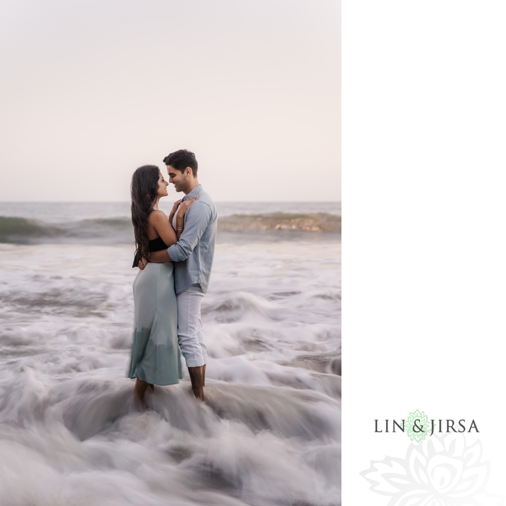 20 Leo Carillo State Beach Malibu Engagement Photographer