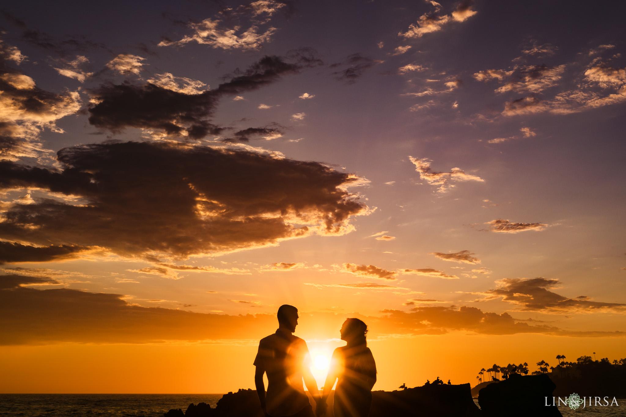 21 Heisler Beach Orange County Engagement Photography