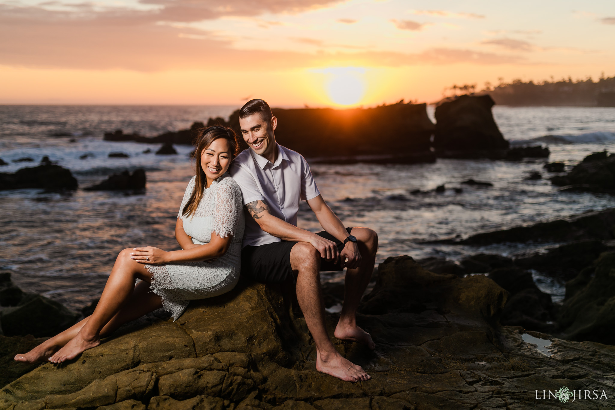 22 Heisler Beach Orange County Engagement Photography