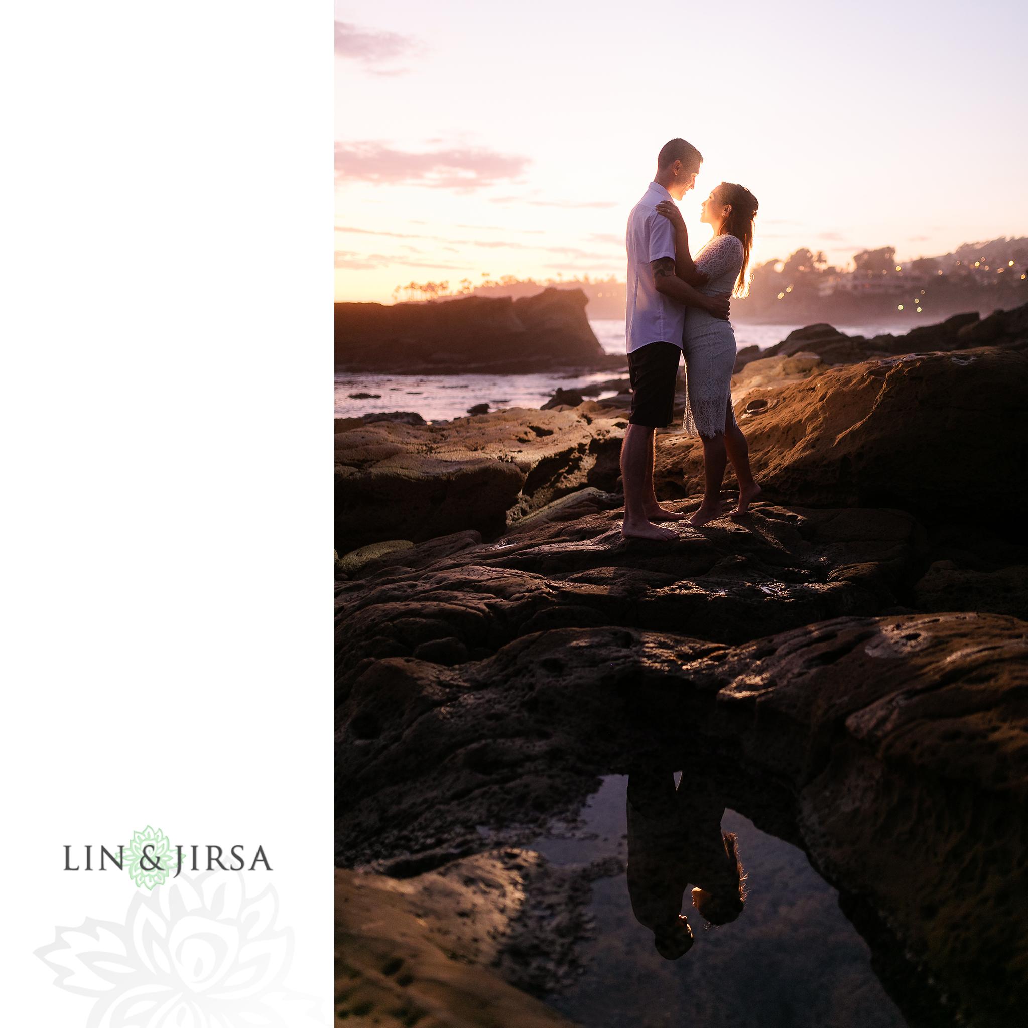 24 Heisler Beach Orange County Engagement Photography