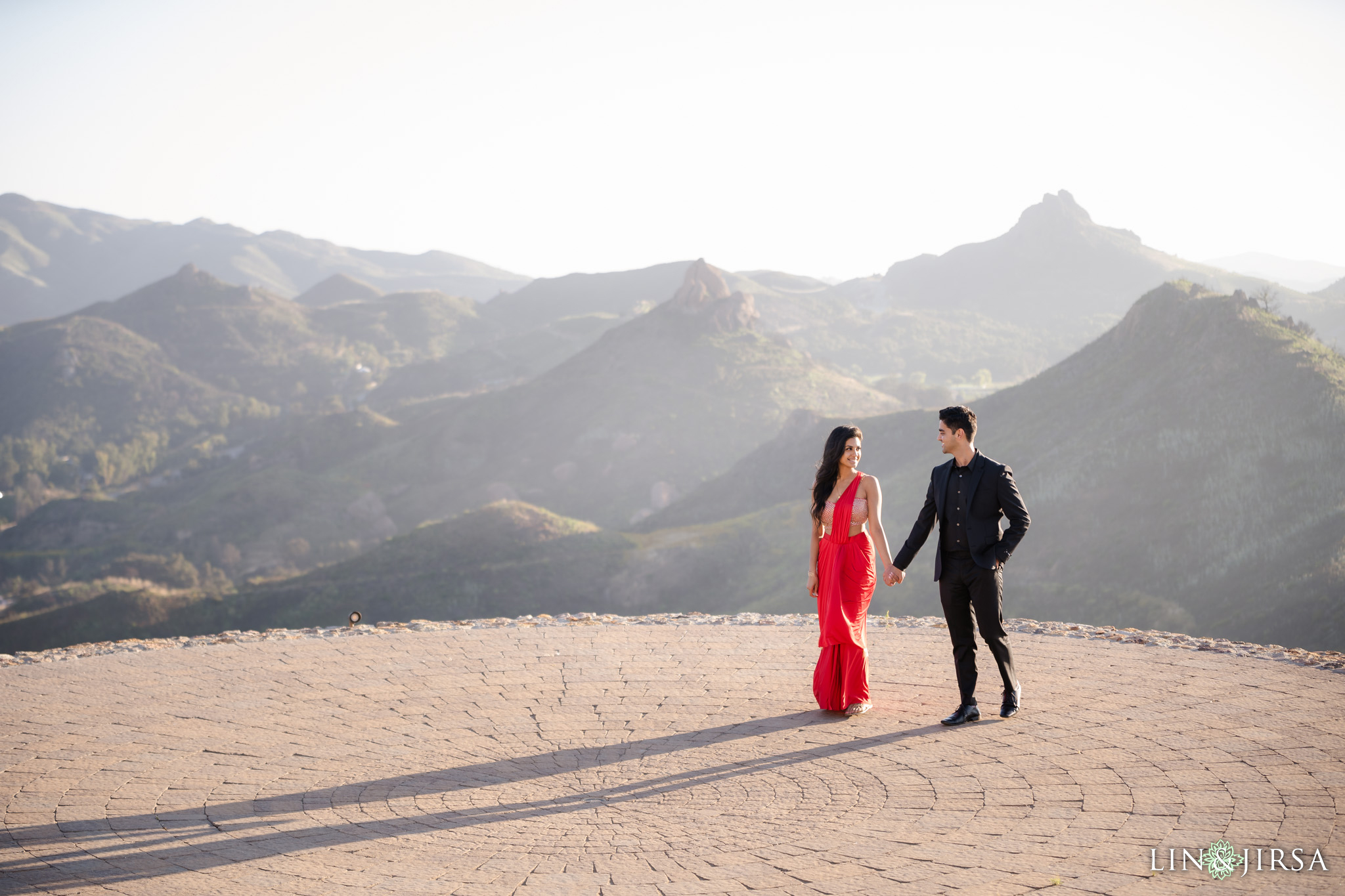 Malibu Rocky Oaks Los Angeles County Engagement Photography 1