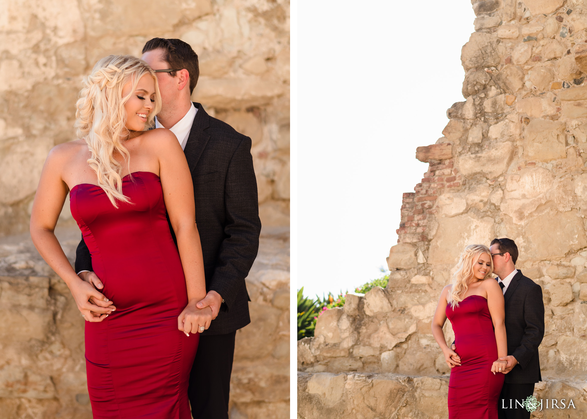 znb San Juan Capistrano Mission Engagement Photography