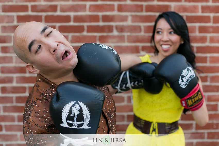 kickboxing Engagement Photo idea