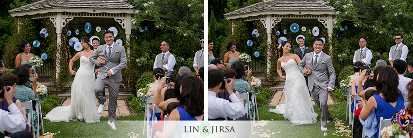 Los Angeles Aboretum Botanic Garden Wedding