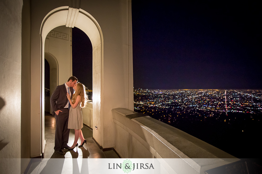 -griffith-observatory-los-angeles-engagement-photography