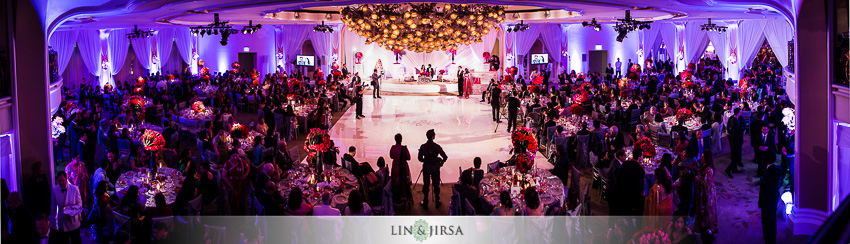 Beverly Hills Hotel Wedding Reception Devkarn Parveena