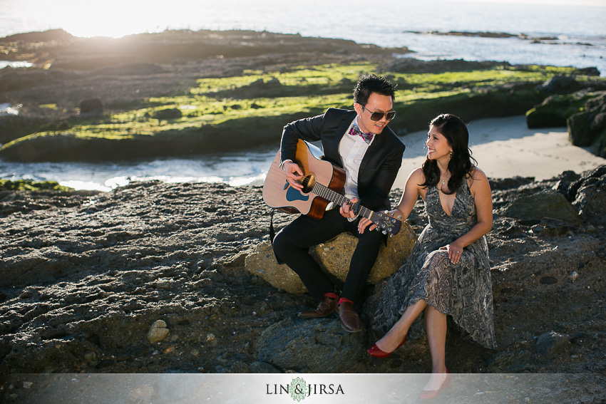 Musician Engagement Photo idea