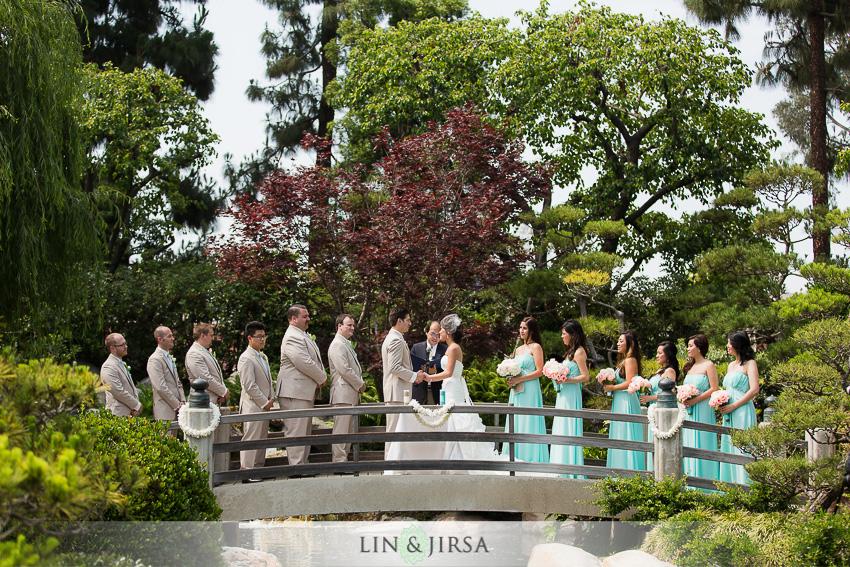 Earl Burns Miller Japanese Garden Wedding George Annie