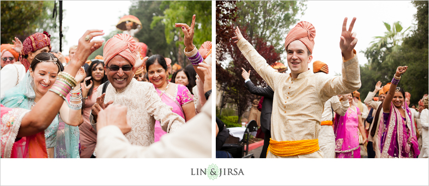 04-the-langham-pasadena-indian-wedding-photographer-baraat-photos