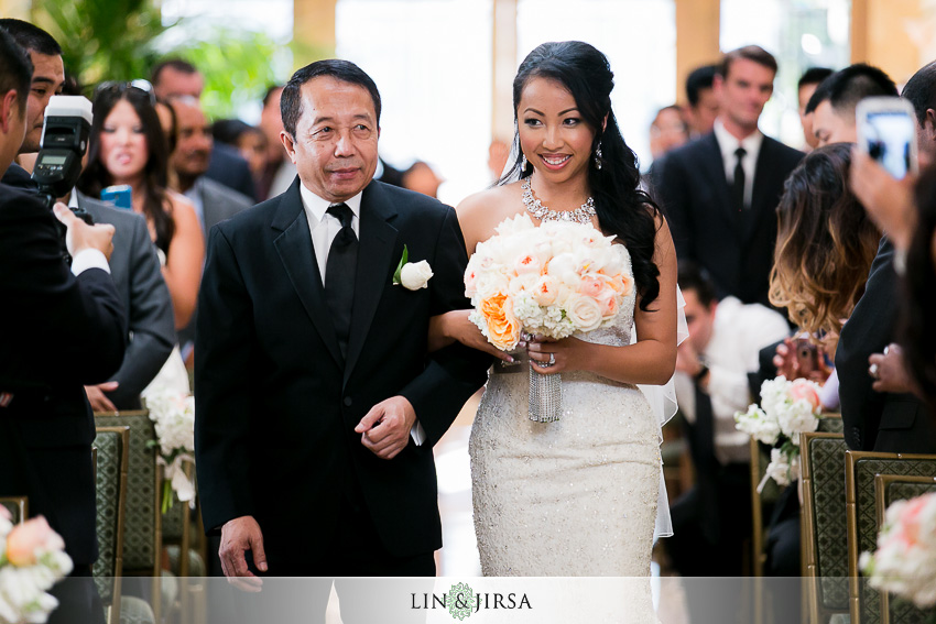 11-taglyan-cultural-complex-wedding-photographer-bride-walking-down-aisle