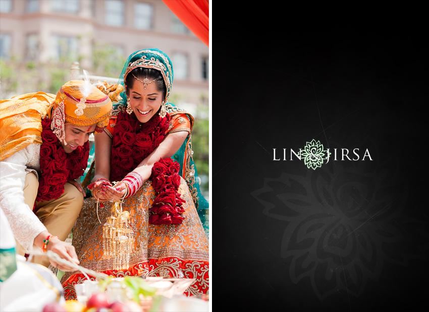 Langham Pasadena Indian Wedding