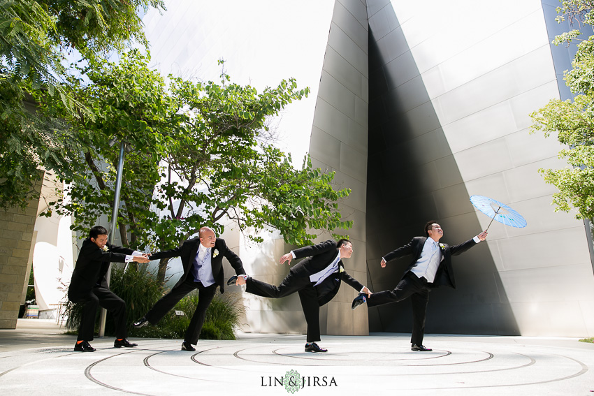 08-walt-disney-concert-hall-los-angeles-wedding-photographer-groom-and-groomsmen
