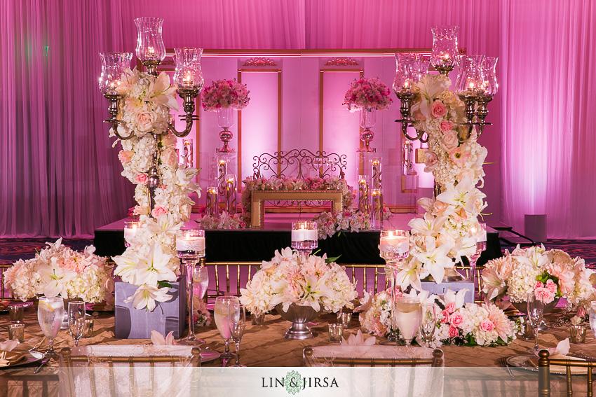 dana point indian wedding photographer wedding reception decor - Wedding Reception Decor