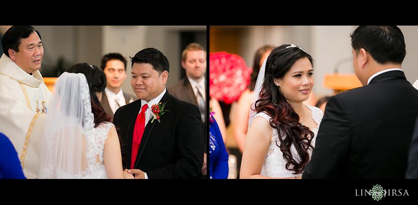 12-huntington-beach-hyatt-wedding-photography-catholic-wedding-ceremony
