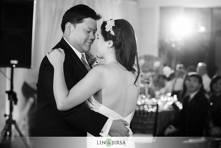 26-huntington-beach-hyatt-wedding-photography-bride-and-groom-first-dance