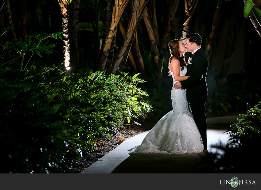 30-hyatt-regency-irvine-wedding-photographer-bride-and-groom-night-time-portrait