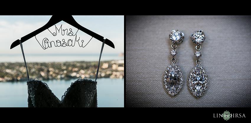 02-manchester-grand-hyatt-san-diego-wedding-photographer-wedding-dress-wedding-earrings