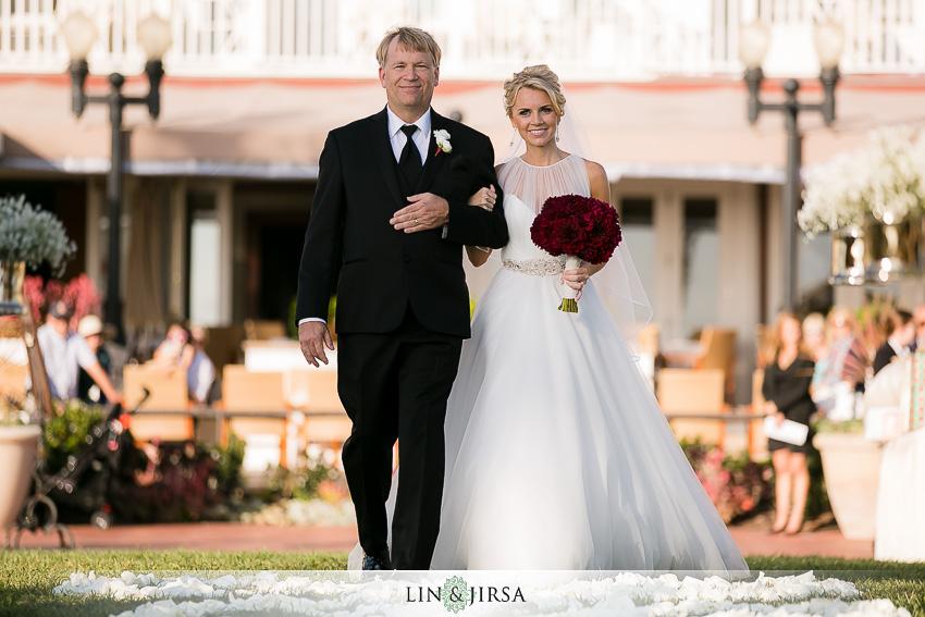 14-hotel-del-coronado-san-diego-wedding-photographer-bride-walking-down-aisle