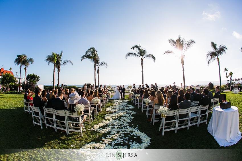 Coronado Hotel San Diego Wedding