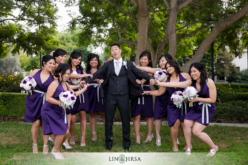 20-manchester-grand-hyatt-san-diego-wedding-photographer-groom-and-bridesmaids-fun-shots