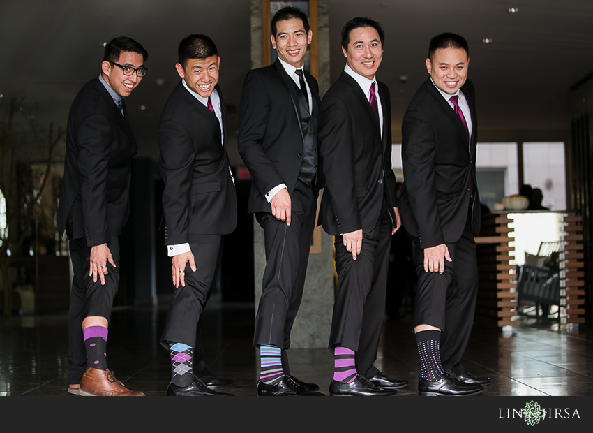 10-the-grand-long-beach-event-center-wedding-photographer-cool-groomsmen-socks-photos