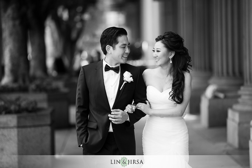 Millennium Biltmore Hotel Los Angeles Wedding Brian And