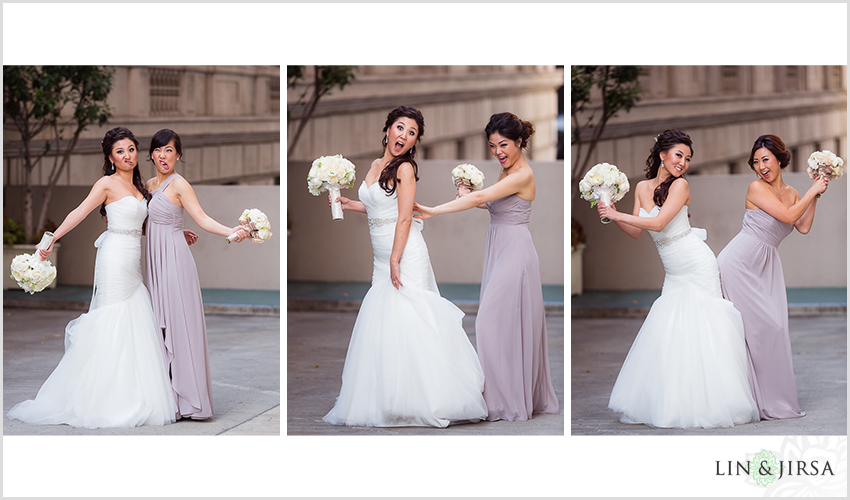 09-millennium-biltmore-hotel-los-angeles-wedding-photographer-fun-bride-and-bridesmaids-photos