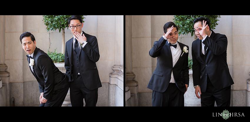 10-millennium-biltmore-hotel-los-angeles-wedding-photographer-funny-groom-and-groomsmen-photos