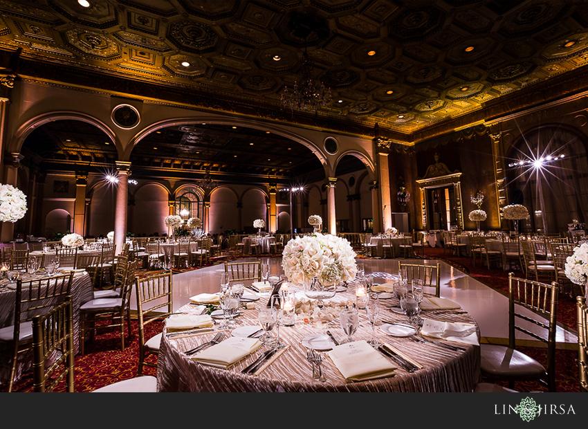 Millennium Biltmore Hotel Los Angeles Wedding   Brian and ...
