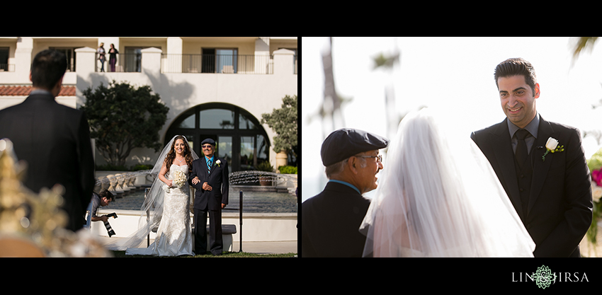 14-hyatt-huntington-beach-orange-county-wedding-photographer-bride-walking-down
