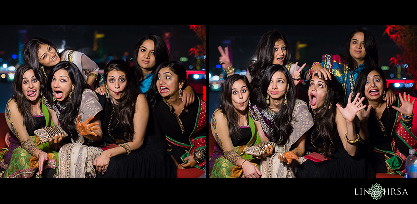 Henna Party Los Angeles : Mehndi party at the w hotel hollywood sumir and kiran day