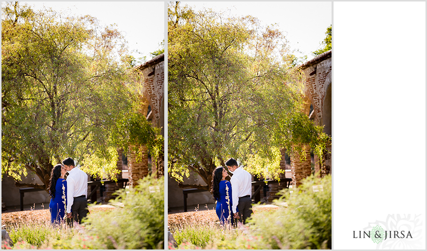 08-lovely-mission-san-juan-capistrano-indian-engagement-pictures