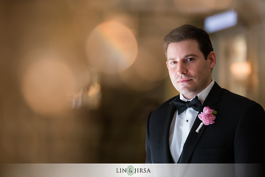 11-langham-pasadena-wedding-first-look
