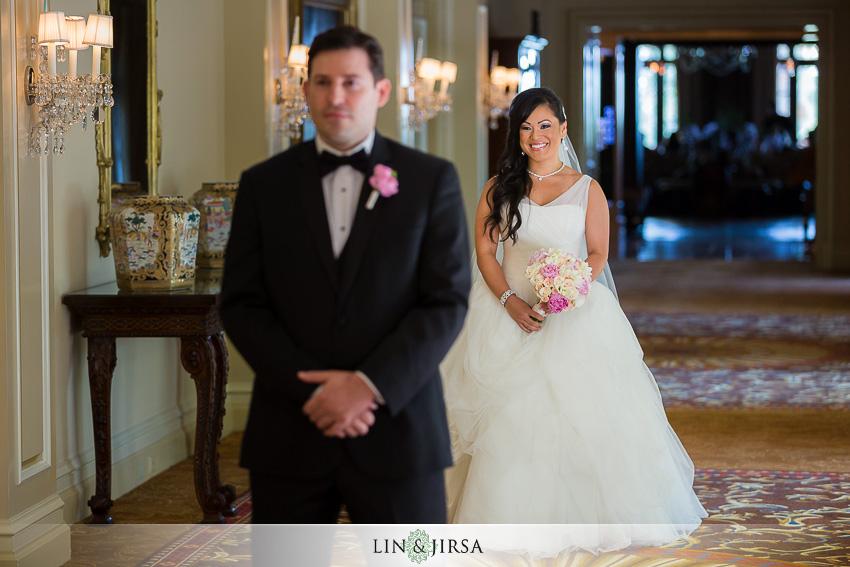 12-langham-pasadena-wedding-first-look