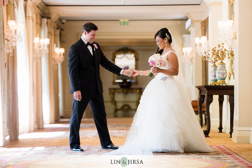 13-langham-pasadena-wedding-first-look