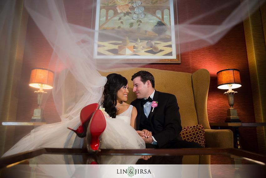 16-langham-pasadena-wedding-first-look
