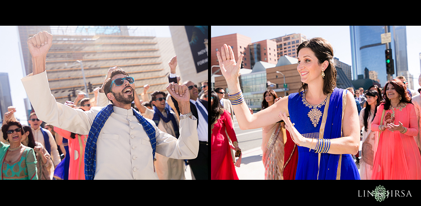 20-walt-disney-concert-hall-indian-wedding-indian-baraat-photos