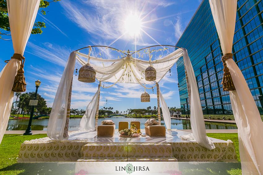 029 Hyatt Regency Long Beach Indian Wedding Photographer