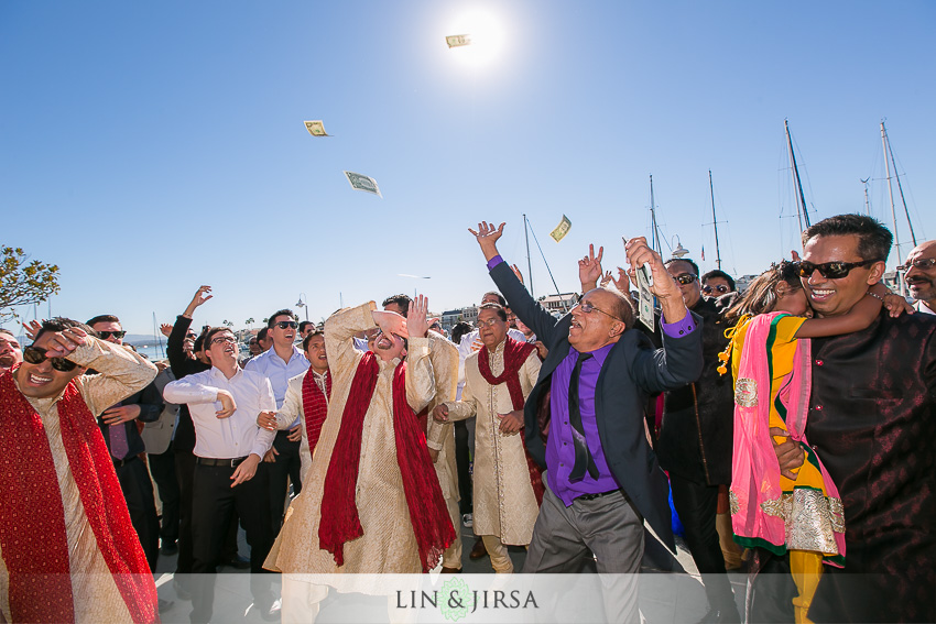 12-loews-coronado-bay-resort-indian-wedding-photographer-baraat-photos