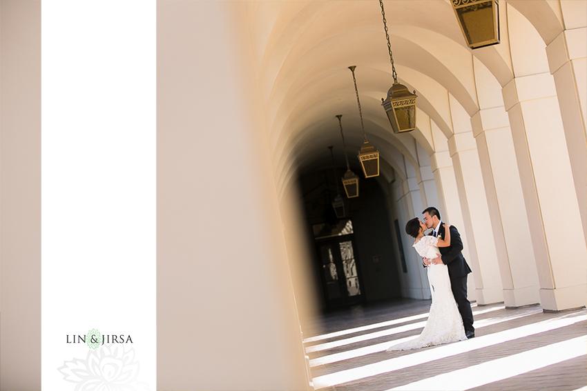 13-the-langham-huntington-pasadena-wedding-photographer-first-look-couple-session-photos