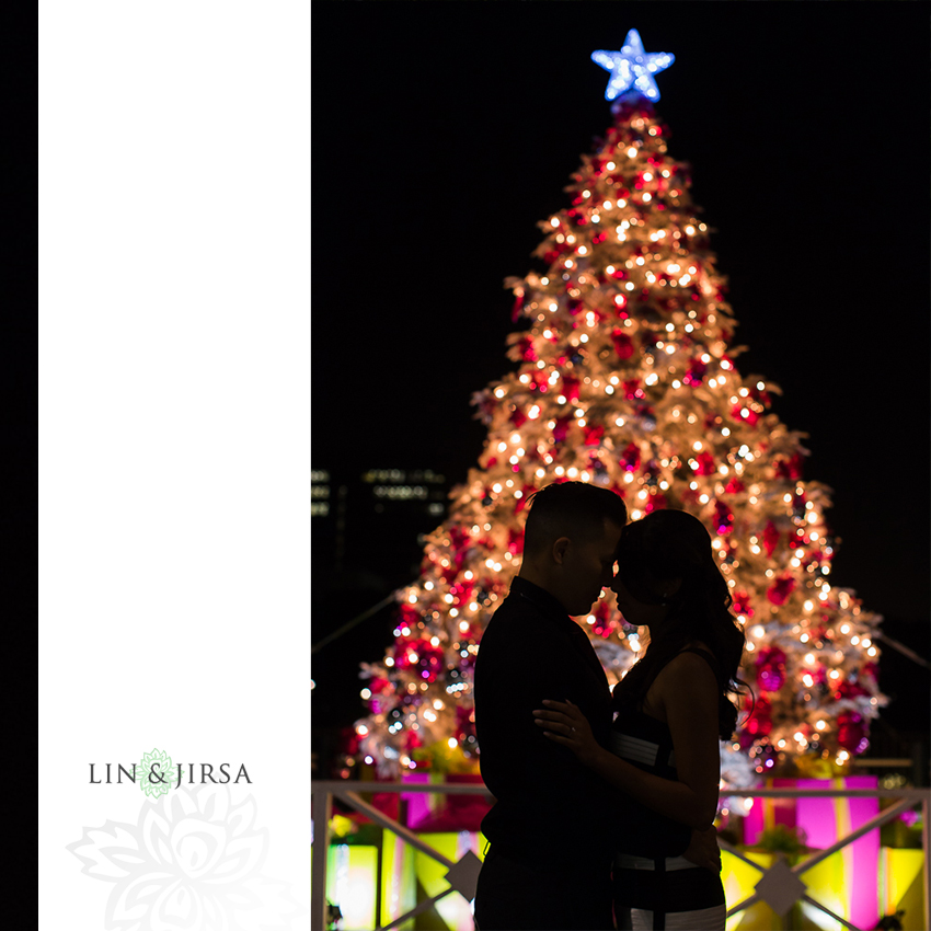 Fun Romantic Downtown Los Angeles Engagement