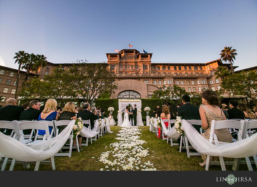 Ceremony First Reception: The Langham Huntington Pasadena Wedding