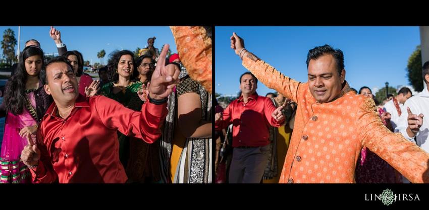 06-hyatt-regency-long-beach-indian-wedding-getting-ready-baraat-photos