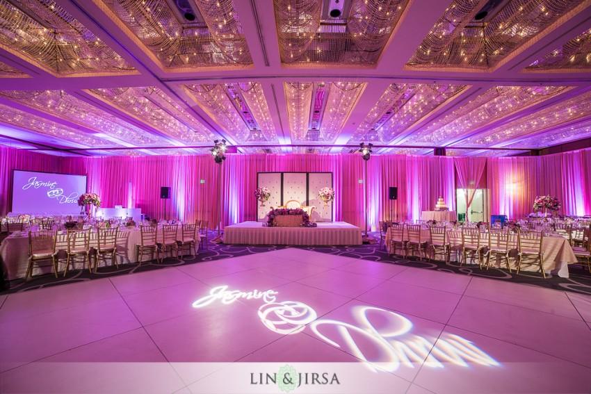 16 Hyatt Regency Long Beach Indian Wedding Reception