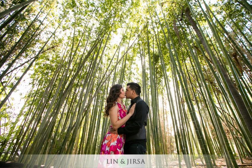 Los Angeles Arboretum Engagement | Josh and Erica