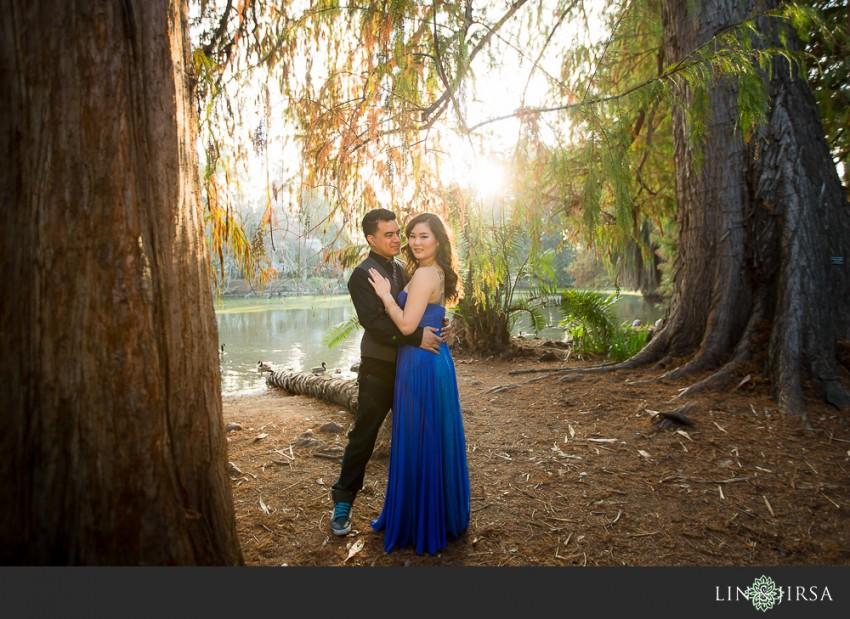 Los Angeles Arboretum Engagement Josh And Erica