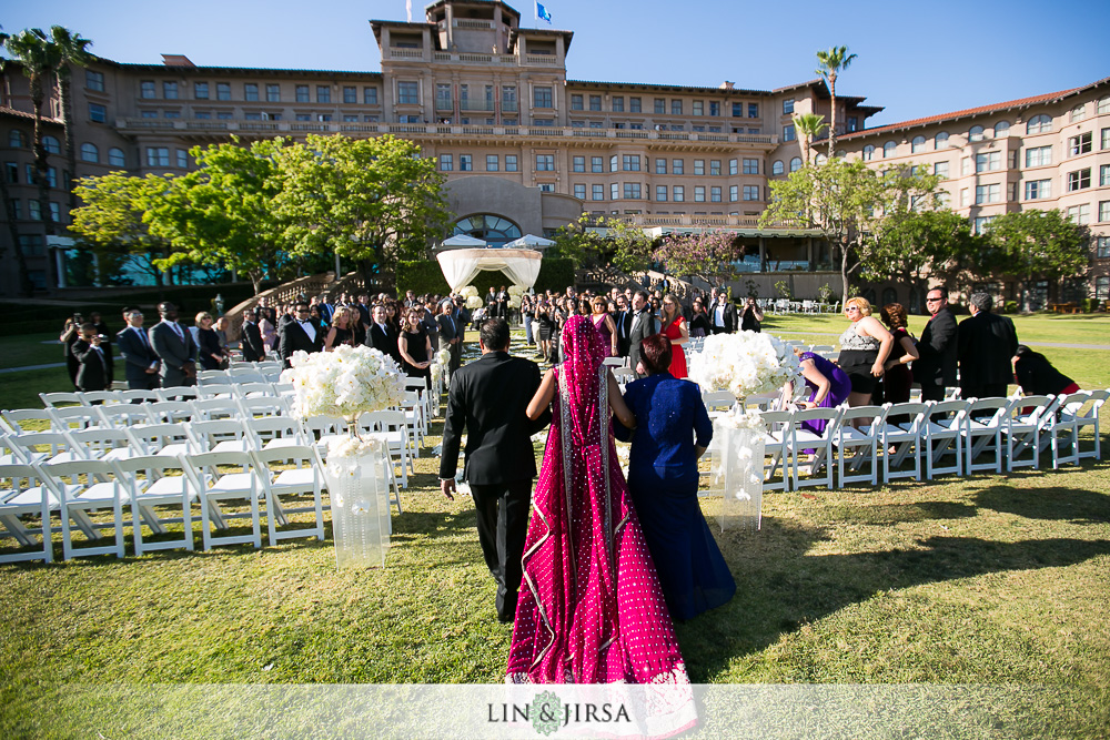 16 The Langham Pasadena Wedding Photographer Ceremony